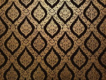 Thai, Thailand, Pattern, Background, Wallpaper, Culture, Art, Texture, Traditional, Asia, Gold, Design, Temple, Abstract, Asian, Flower, Wall, Style, Vintage, Beautiful, Vector, Old, Decoration, Antiq