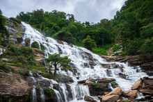 Mae Ya Waterfall , Doi Inthanon National Park , Chiang Mai , Thailand