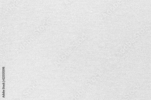 Fotografiet White cotton fabric canvas texture background for design blackdrop or overlay ba