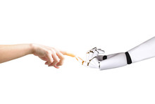 Human Hand And Robot Hand System Concept Integration And Coordination Of Intellectual Technology..