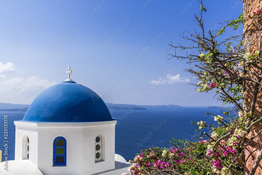 Fototapety, obrazy: Little Orthodox Church on the coast