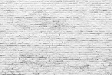 White And Grey Brick Wall Text...