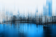 Abstract Concept Of Blurred Ci...