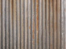 Old Rusty Metal Roof Texture Background