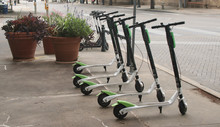 Dockless Electric Scooters On ...