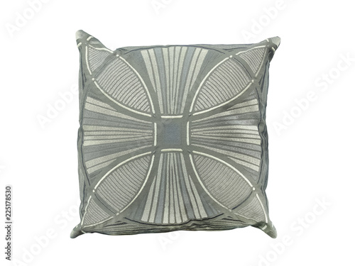 Fotografia  Decorative pillow with geometric pattern.