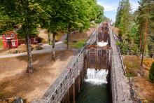 Vrangfoss Staircase Locks Telemark Canal  Telemark Norway