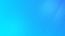 Light Blue Cyan Gradient Background. Wallpaper For Desktop. Business Corporate Backdrop For Presentation. Bright Pure Turquoise Soft Line Transition.