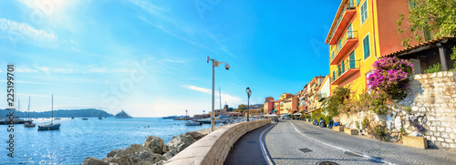 Fotografía Resort town Villefranche-sur-Mer. Cote d'Azur, France