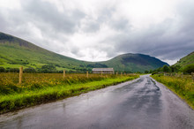 Road To Wasdale Head On A Rain...