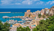 Panoramic sight in Castellammare del Golfo, beautiful village near Trapani, in Sicily, Italy.