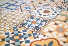 Patchwork Pattern Tile  Close...