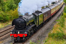 Flying Scotsman Steam Train