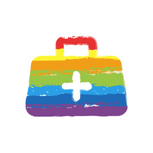 First-aid Kit, Simple Icon. Dr...