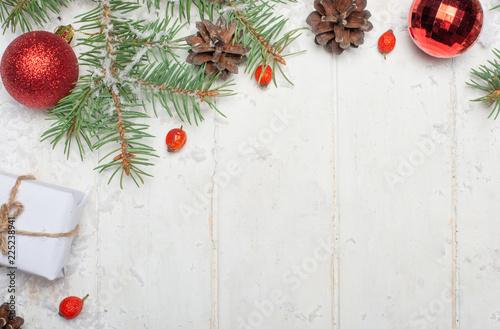 Foto  Christmas composition