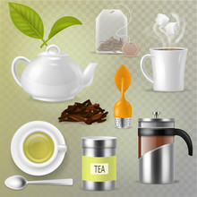 Tea Vector Drink Herbal Bevera...