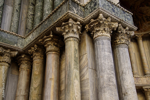 Fotografie, Obraz  Exterior columns on San Marco