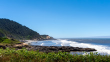 View Of The Oregon Coastline F...
