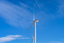 Wind Turbine At Wind Farm In C...