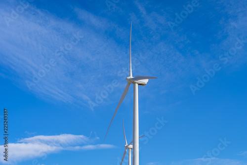 Fotografie, Obraz  Wind Turbine at Wind Farm in California Desert