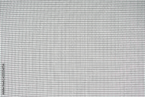 Texture mesh mosquito wire screen,monochrome patterns background Canvas Print