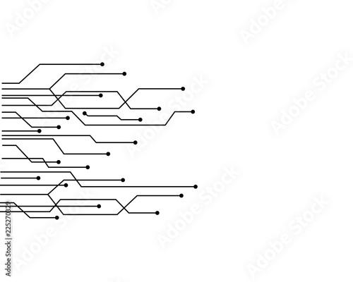 Fotografía  circuit board vector