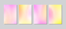 Screen Gradient Set With Moder...