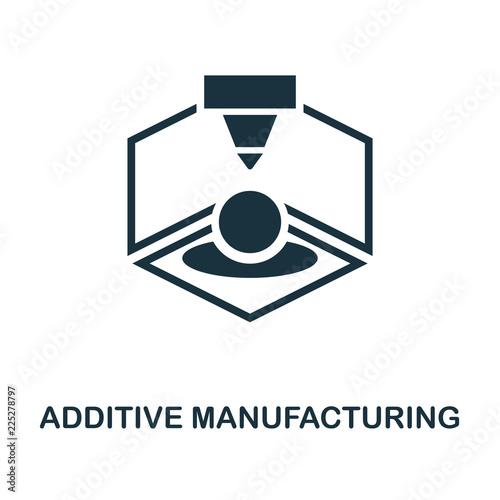 Fotografia  Additive Manufacturing icon