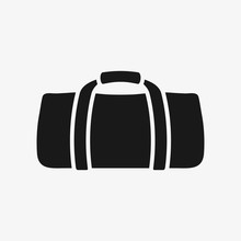 Gym Bag Vector Icon
