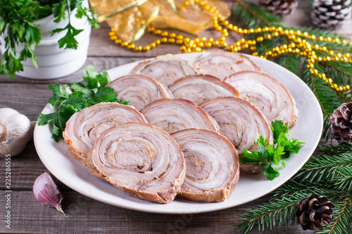 Photo  Meatloaf (roulade)