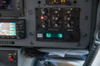 Control panel of helicopter