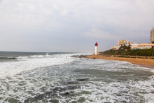 The Umhlanga Beach And Lightho...
