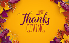 Thanksgiving Holiday Banner Wi...