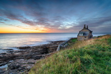 Dawn At Howick In Northumberland