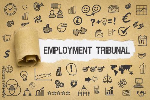 Obraz na plátně Employment Tribunal
