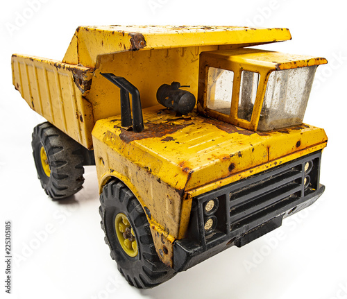 Vintage yellow truck