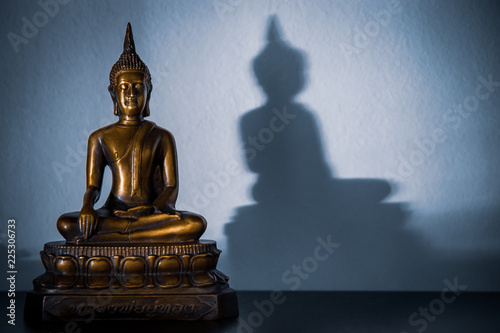 Fotografia  peaceful skinny buddha