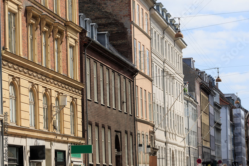 view from the town center of Copenhagen, Denmark Canvas Print