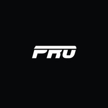 Minimal Letters PRO Logo Design
