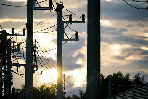 High-voltage electrical insulator electric line - Buy this
