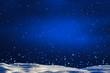 schneefall in der nacht