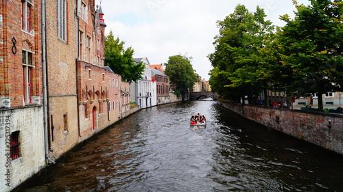 Deurstickers Brugge Ballade à Bruges 2