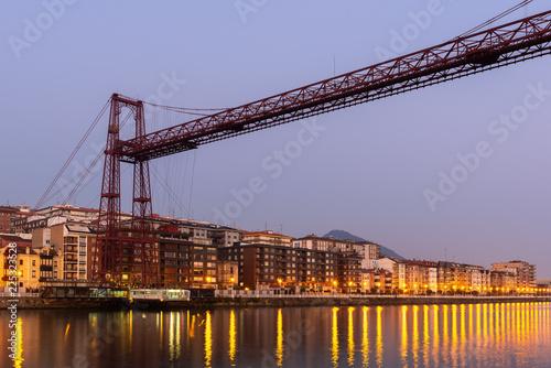 Bridge of Bizkaia, Portugalete, Basque Country, Spain