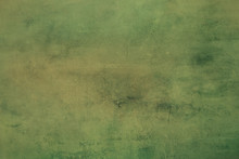 Green Grungy Canvas Background...