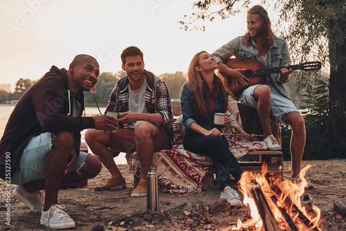 Carefree camping.
