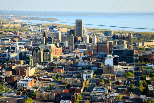 Photo sur Aluminium Buffalo Downtown Buffalo NY