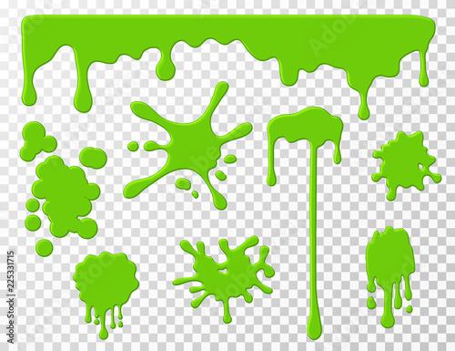 Fotomural Dripping slime