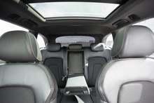 Interior Of Modern Car With Le...