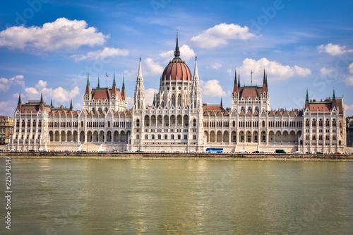 Fotografia  Hungarian Parliament Buildings, Budapest Hungary