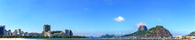 Panoramic Morning View Of The ...